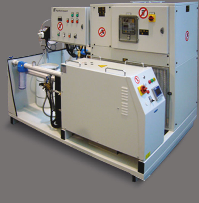 Custom solutions production of chillers